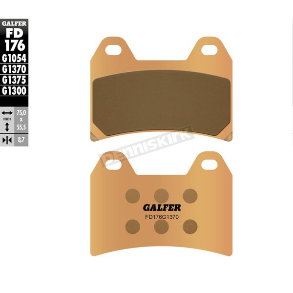 HH Sintered Brake Pads - FD176G1370