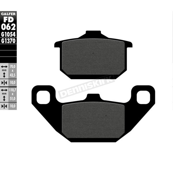 Semi-Metallic Brake Pads - FD062G1054