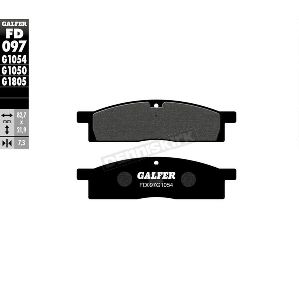 Semi-Metallic Brake Pads - FD097G1054