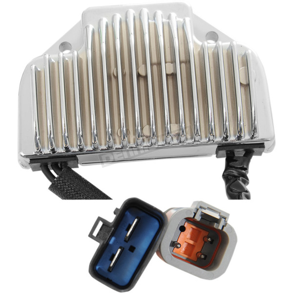 Drag Specialties Chrome Premium Voltage Regulator - 2112-1041