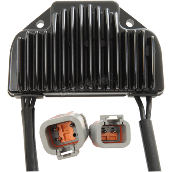 Drag Specialties Black Premium Voltage Regulator - 2112-1042