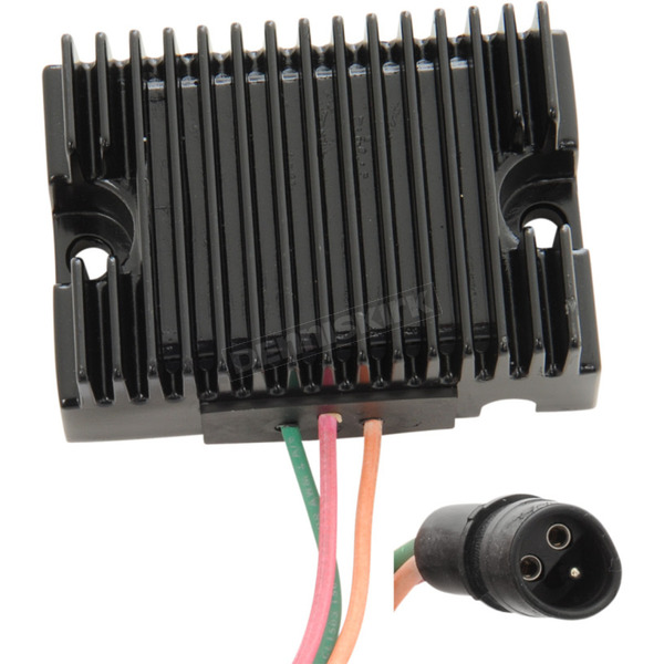 Drag Specialties Black Premium Voltage Regulator - 2112-1082