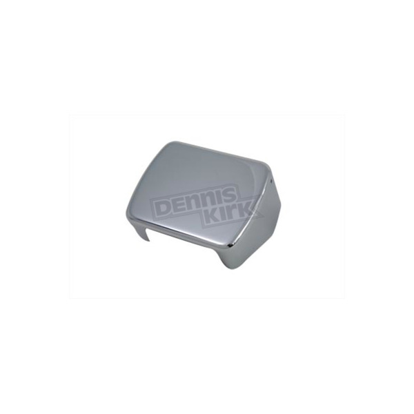 V-Twin Manufacturing Chrome Single Fire Coil Cover - 42-0486