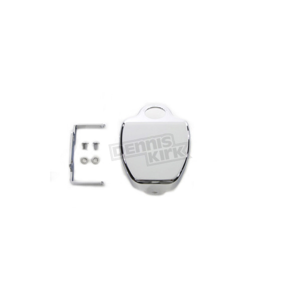 V-Twin Manufacturing Chrome Smooth Coil Cover - 42-1077