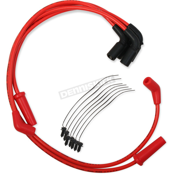 Accel Red Custom Plug Wire Set  - 171116-R
