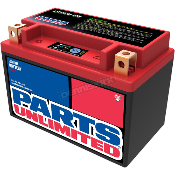 Parts Unlimited Lithium Ion Battery - 2113-0687