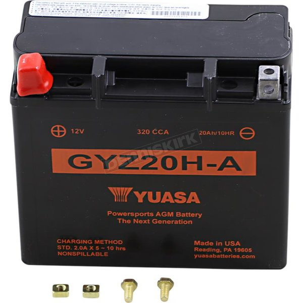 GYZ Factory-Activated AGM Maintenance-Free Battery - YUAM720GHA