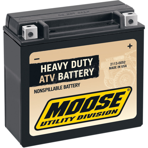 Moose Non-Spillable 12-Volt Battery - 2113-0051