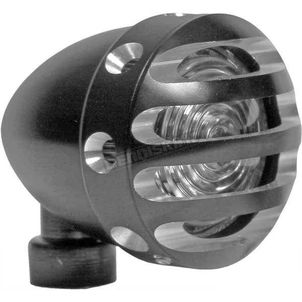 West Eagle Black ER Mini LED Finned Tail Light - 5919-AB