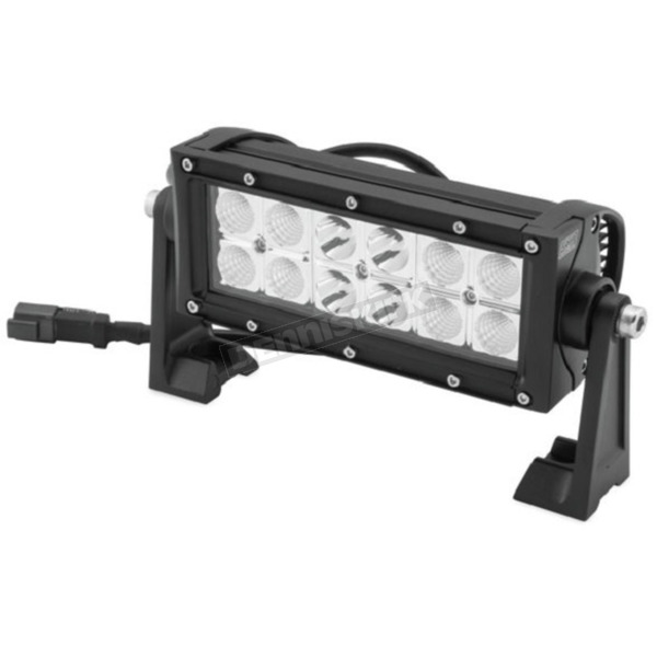Quadboss 7.5 in. Double Row Hi Lux LED Bar - 12098