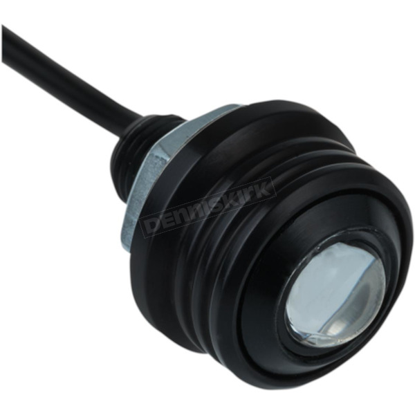 Black w/Blue Lens Rat Eye LED Fender Light - 60-541-2