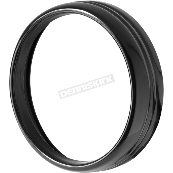 Black Headlight Trim Ring - HW131386