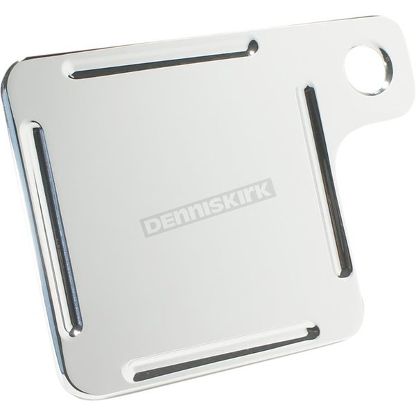 Chrome Inspection Tag Plate - 09-580-3