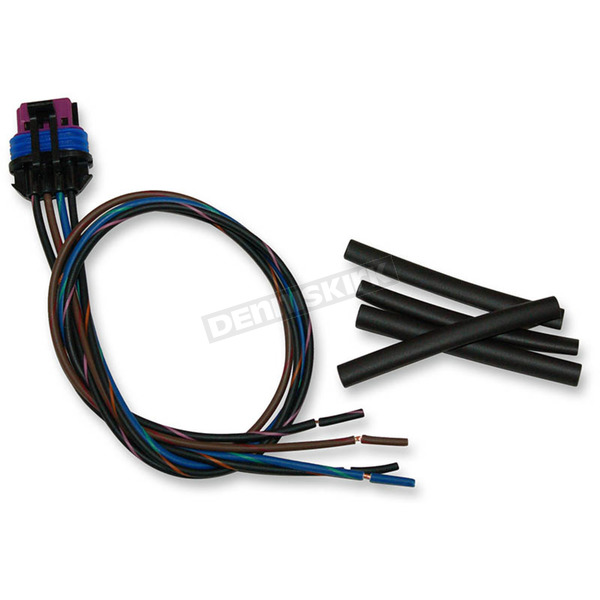 NAMZ Custom Cycle Products Delphi Connector w/Wire Pigtails - PT-15354716-B