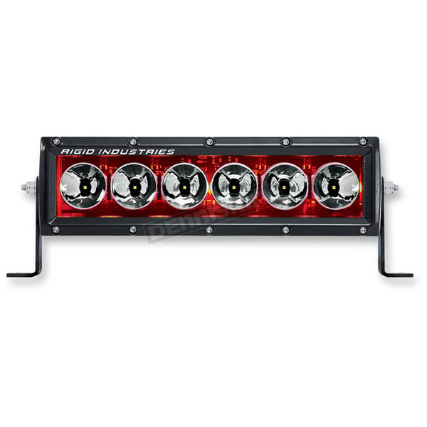 Rigid Industries 10 in. Red Radiance LED Light Bar - 21002