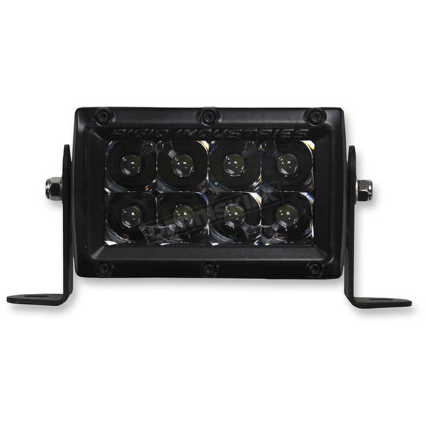 Rigid Industries 4 in. E-Series Midnight Edition LED Light Bar - 104212BLK