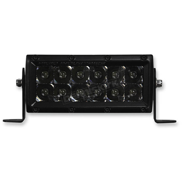 Rigid Industries 6 in. E-Series Midnight Edition LED Light Bar - 106212BLK