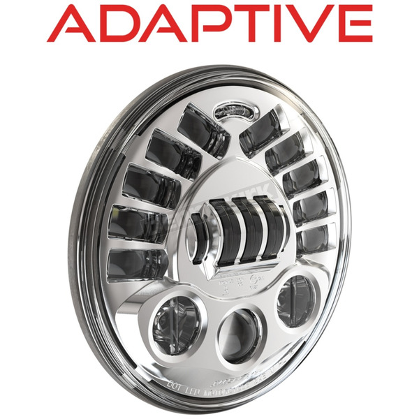 J.W. Speaker Chrome Model 8790 Adaptive 7