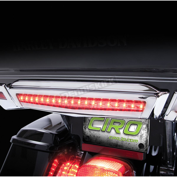 Chrome Center Brake Light For Tour-Pak® - 40004