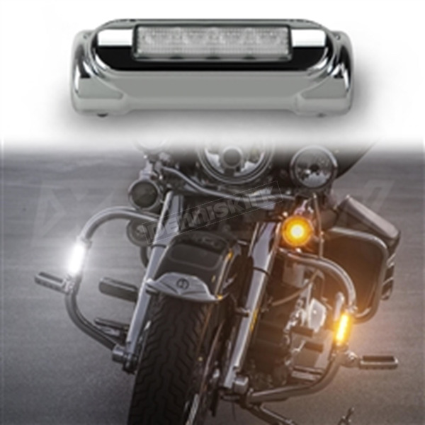 XK Glow Chrome Highway Bar Lights - XK034014-W