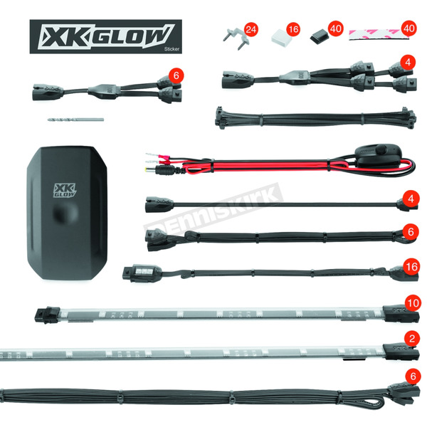 XK Glow App Controlled LED Light Kit - XK-UTV-STA
