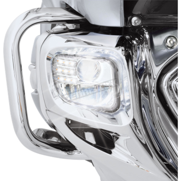 Show Chrome Tridium 3-Function LED Fog Light Kit - 52-915
