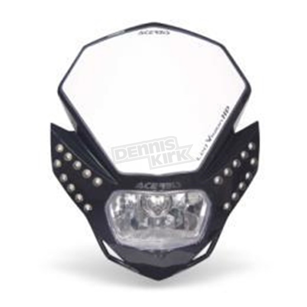 Acerbis Black LED Vision Headlight - 2144210001