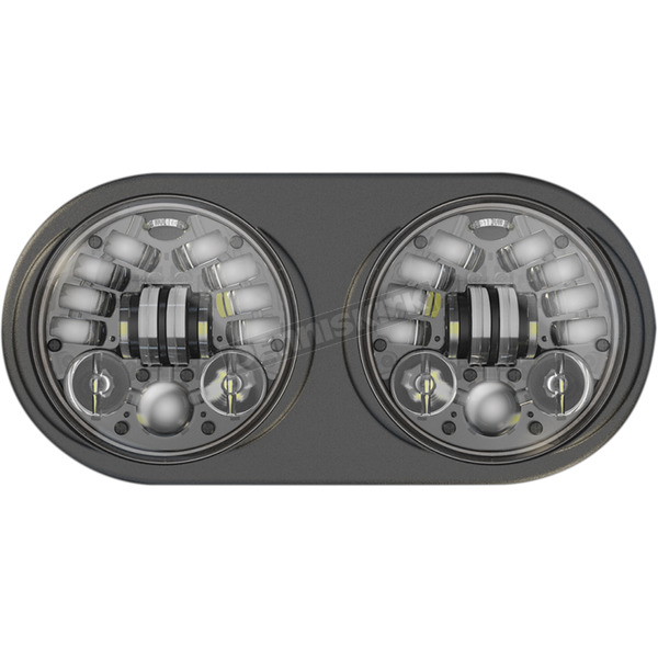 J.W. Speaker Black 5 3/4 in. LED Headlight - 0553951