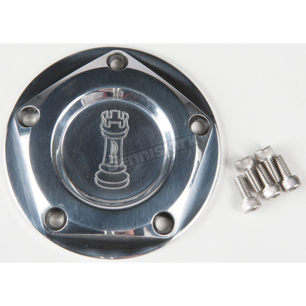 Rooke Customs Polished Ignition Cover - R-C1605-TP