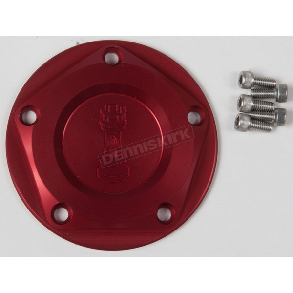 Rooke Customs Red Ignition Cover - R-C1605-T7