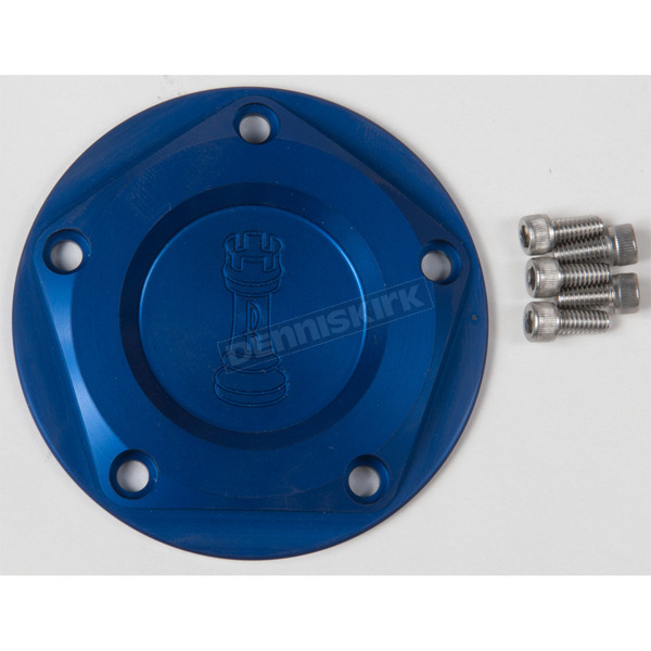 Rooke Customs Blue Ignition Cover - R-C1605-T8