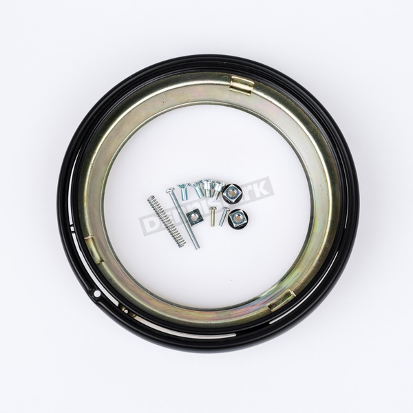 J.W. Speaker Black Headlight Adapter Ring Kit - 0703361