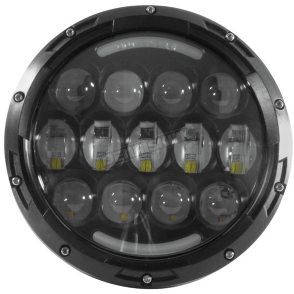 Cyron Black 7 in. Urban LED Headlight - ABIG7-A6K