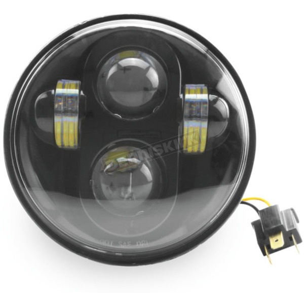 Cyron Black Integrated LED 5.75 in. Headlight - ABIG5-A6K