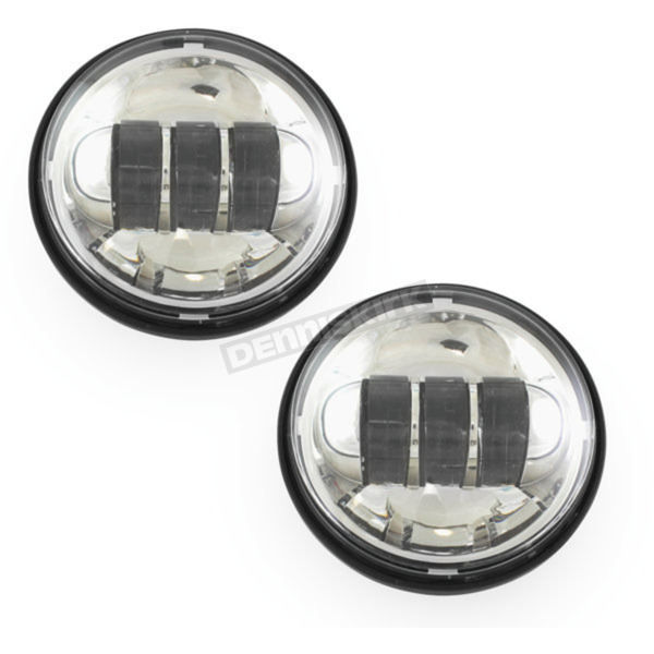 Cyron Chrome 4.5 in. LED Passing Lamps - ABIG4.5-A6KC