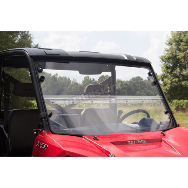 Seizmik Hard Coated Full Size Ranger Versa-Fold Windshield - 25001