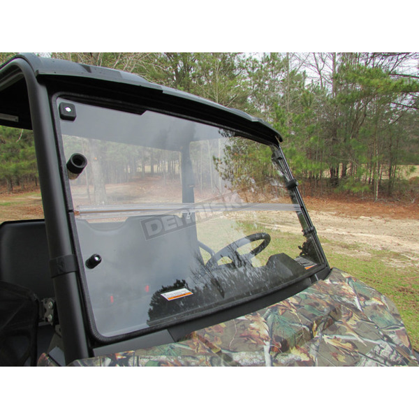 Seizmik Hard Coated Mid Size Ranger Versa-Fold Windshield - 25003