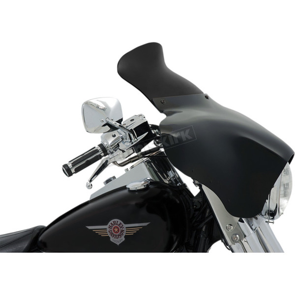 Memphis Shades 9 in. Dark Smoke Spoiler Windshield for Batwing Fairing - MEP84210