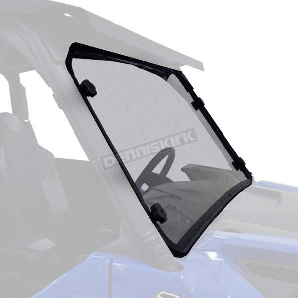 Kolpin Clear Full-Fixed Windshield - 2636