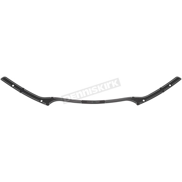 Arlen Ness Black Beveled Billet Windshield Trim - 03-677