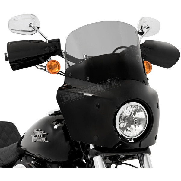 Memphis Shades Road Warrior 11 in. Black Smoke Windshield - MEP86712