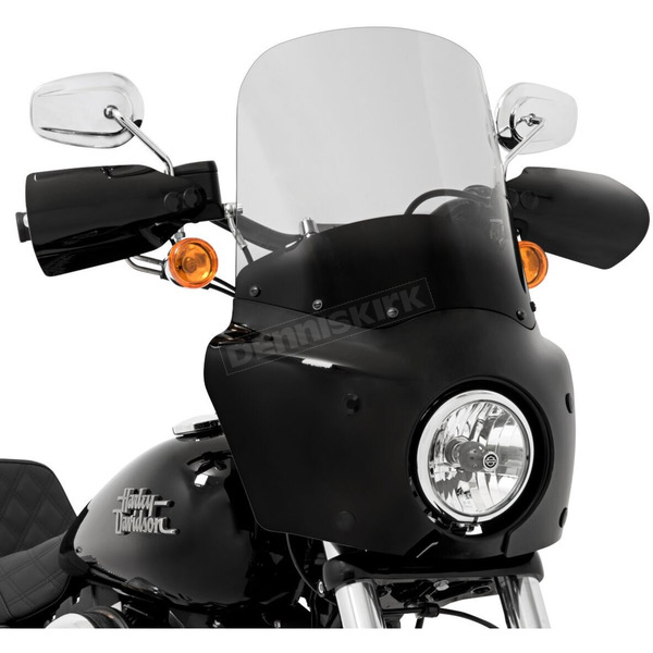 Memphis Shades Road Warrior 15 in. Ghost Windshield - MEP86908