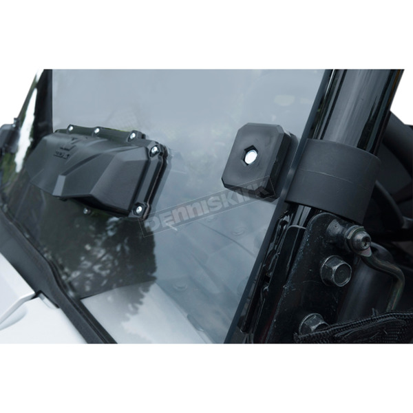 Seizmik Scatch Resistant Vented Full Windshield - 25035