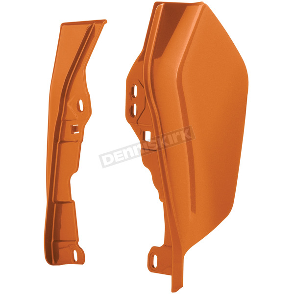 Amber Whiskey Mid-Frame Air Deflectors - HW159119