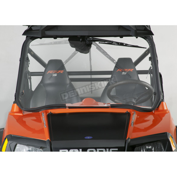 Clear 25.32 Full WASH'n'WIPE Lexan/Polycarbonate Quantum Hardcoated Windshield - N30202