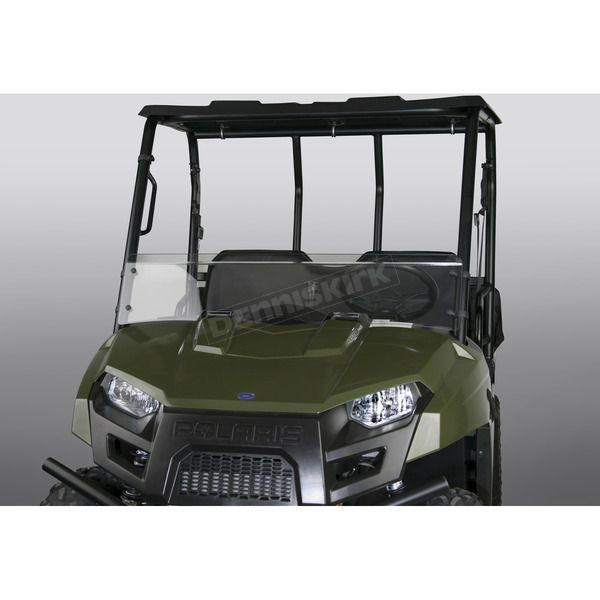 Clear 9.97 in Low Lexan/Polycarbonate Quantum Hardcoated Windshield - N30203