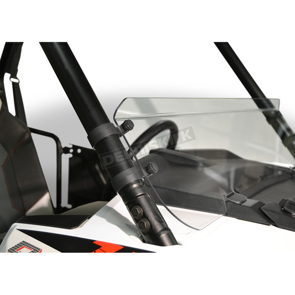 Clear 9.8 in Low Lexan/Polycarbonate Quantum Hardcoated Windshield - N30209