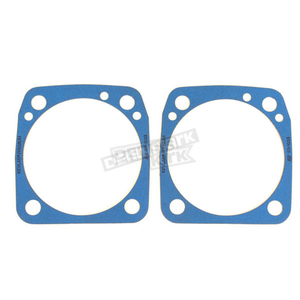 S&S Cycle 3 5/8 in. Bore Base Gaskets - .018 in. Thick - 930-0093