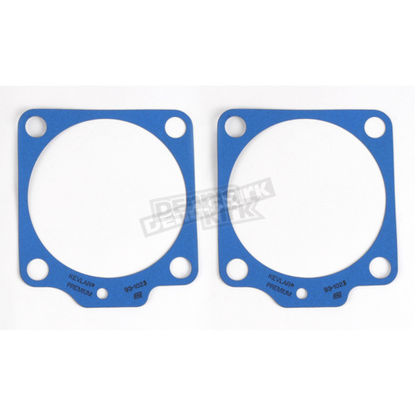 S&S Cycle 3 7/16 in. and 3 1/2 in. Bore Base Gaskets - .018 in. Thick - 930-0095