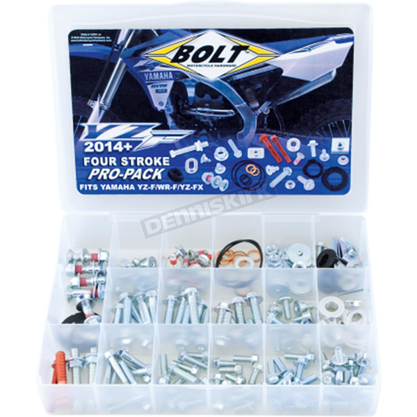 Bolt Motorcycle Hardware Yamaha Pro Pack - YZPP-14